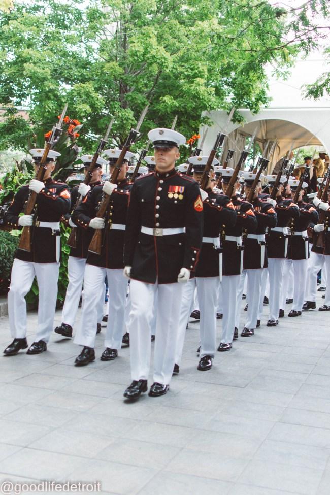 Marine Corps Silent Drill Platoon