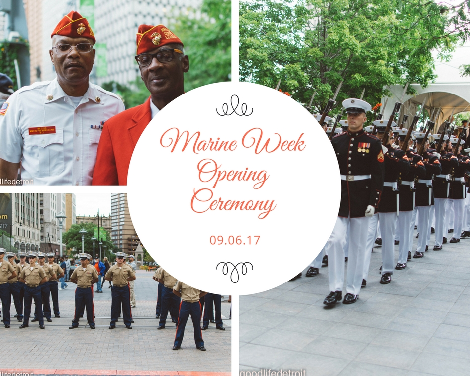 Photographs from Marine Week Opening Ceremony