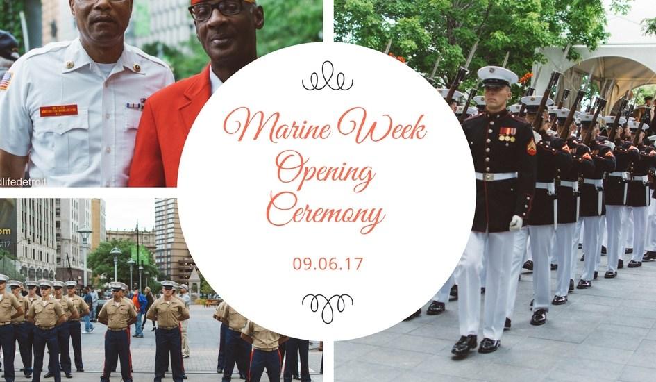 Snapshots Around Town: Marine Week Opening Ceremony