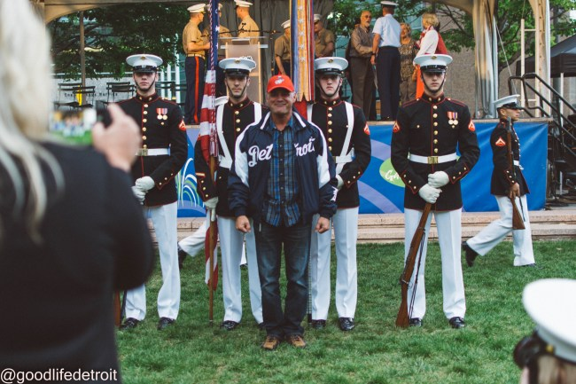 marine week opening ceremony