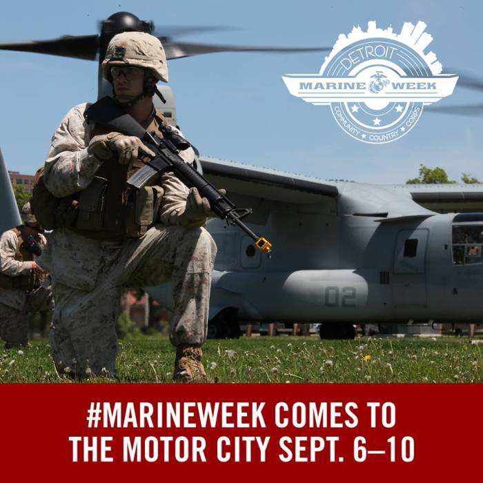 Marine Week Detroit
