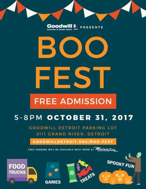 Goodwill Detroit BOO-Fest