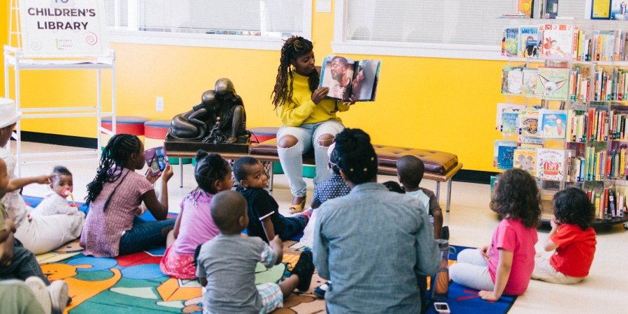 Sunday Family Fun Day At The Detroit Public Library