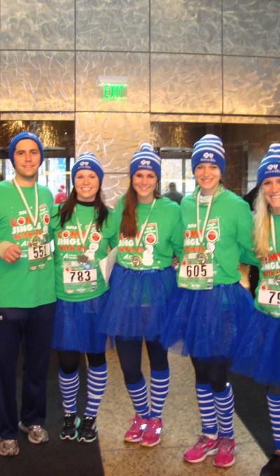 Detriot Gets Festive for the Arthritis Foundation's Jingle Bell Run