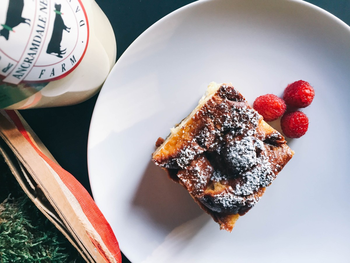 Holiday Breakfast Recipe: Overnight Baked Eggnog French Toast Recipe