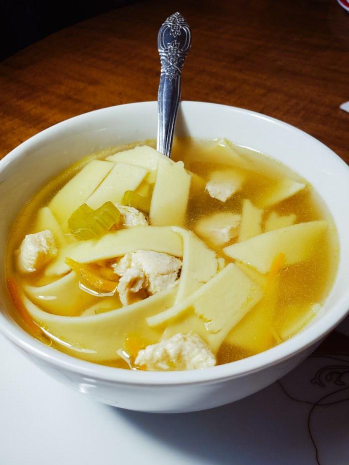 Delicious Homemade Chicken Noodle Soup Recipe