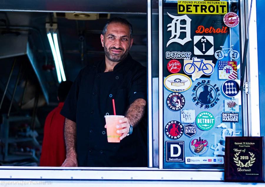 Detroit 75 Kitchen Chef Mike