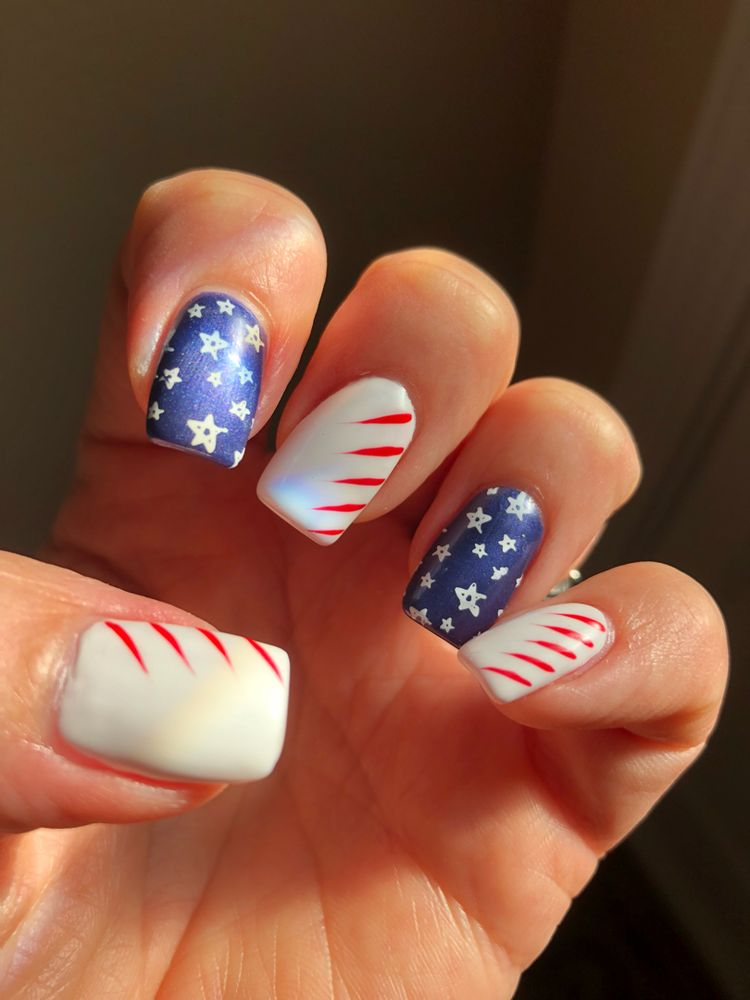 Independence Day Nail Art Designs