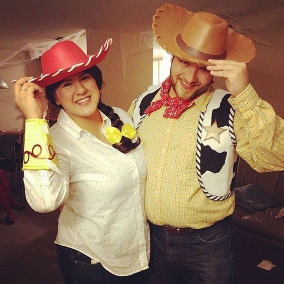 Jesse and Woody Halloween Costumes