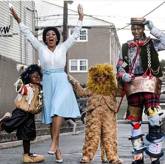 Black Family Halloween Costume Ideas