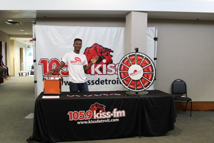 105.9 KISS Marcus, promotions