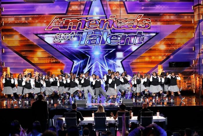 America's Got Talent Detroit Youth Choir got the golden buzzer!