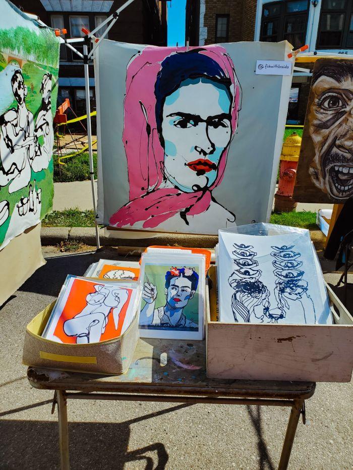 Frida art Detroit