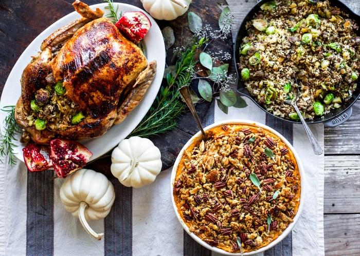 Thanksgiving menu idea
