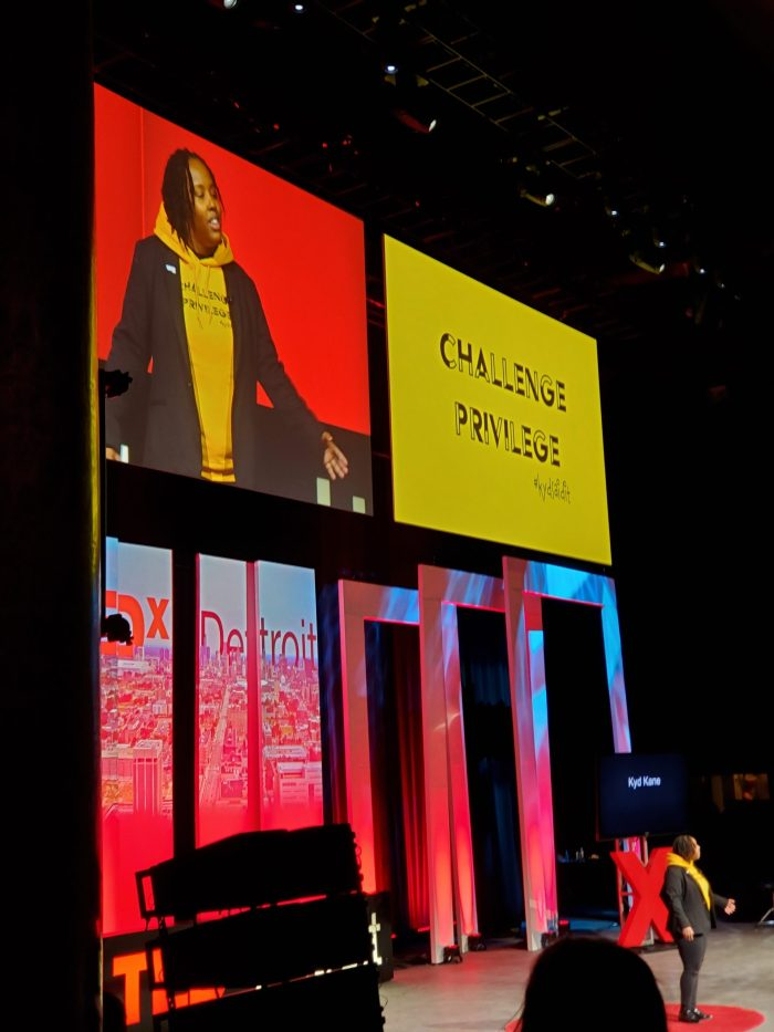"TEDxDetroit ""Challenge Privelege"" | Spoken Word Poetry"