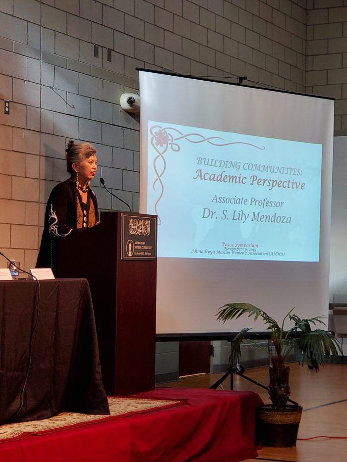 Associate Professor Dr. S. Lily Mendoza