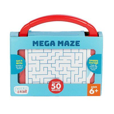 CHUCKLE & ROAR MEGA MAZE TRAVEL GAME