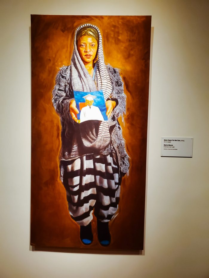 "African American Art: ""Mom Says I'm Her Sun"" (2015) by Mario Moore"