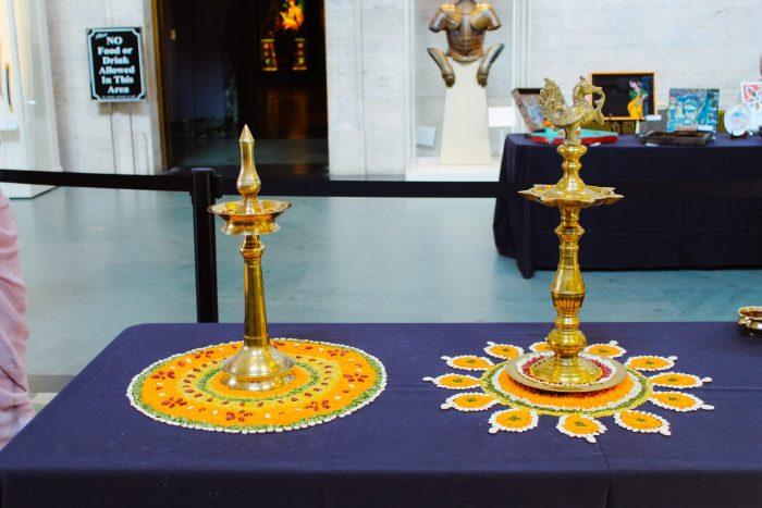A celebration of Indian culture in Detroit, Michigan.