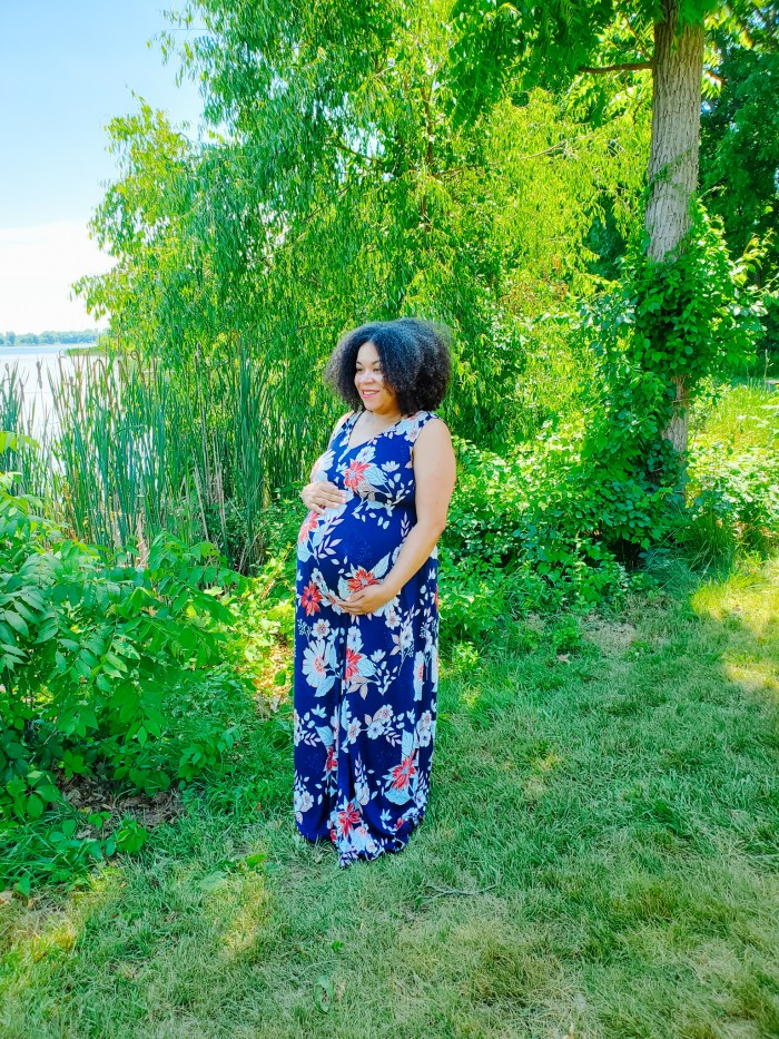 Eight Months Pregnant Pictures