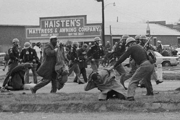 John Lewis Selma, Alabama Bloody Sunday