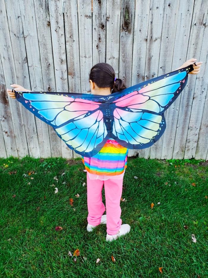 DIY Butterfly Halloween Costume Idea for Kids
