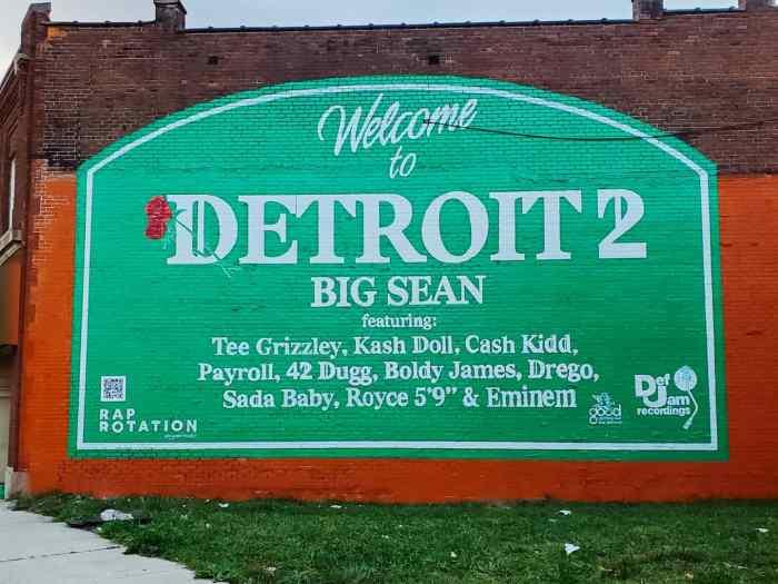 Detroit 2 Mural in Detroit, Michigan