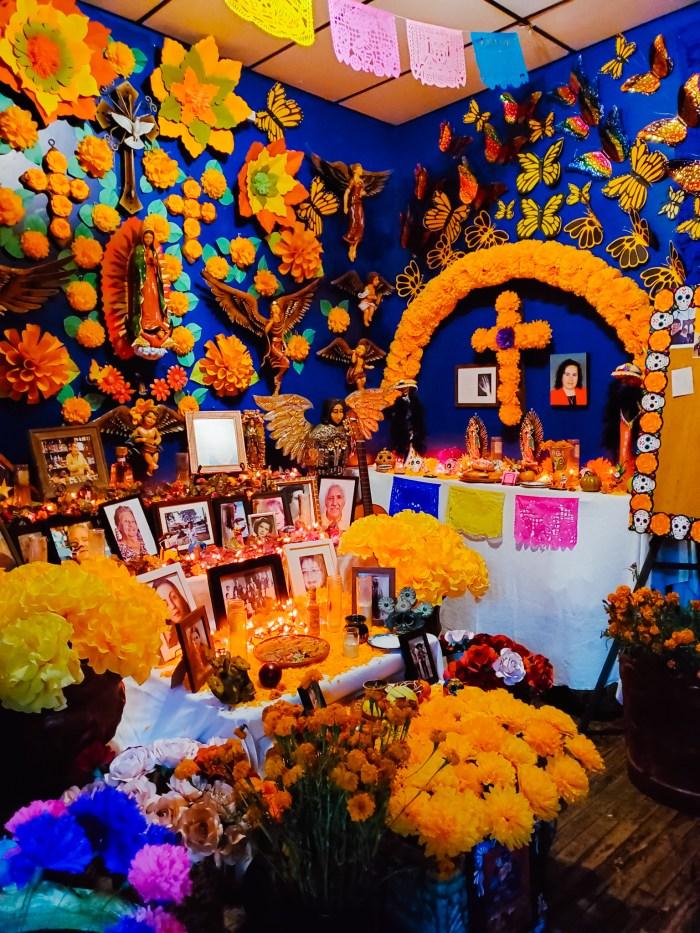 Xochi Gift Shop Dia de Los Muertos Ofrendas