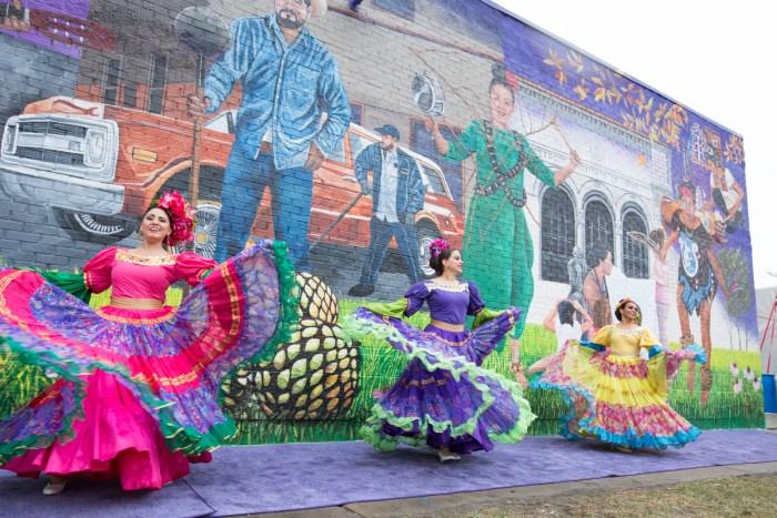 Elton Monroy Mural Honors Southwest Detroit's Community