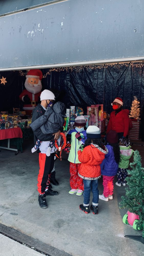Detroit Police Department gives back to the community during the holidays.