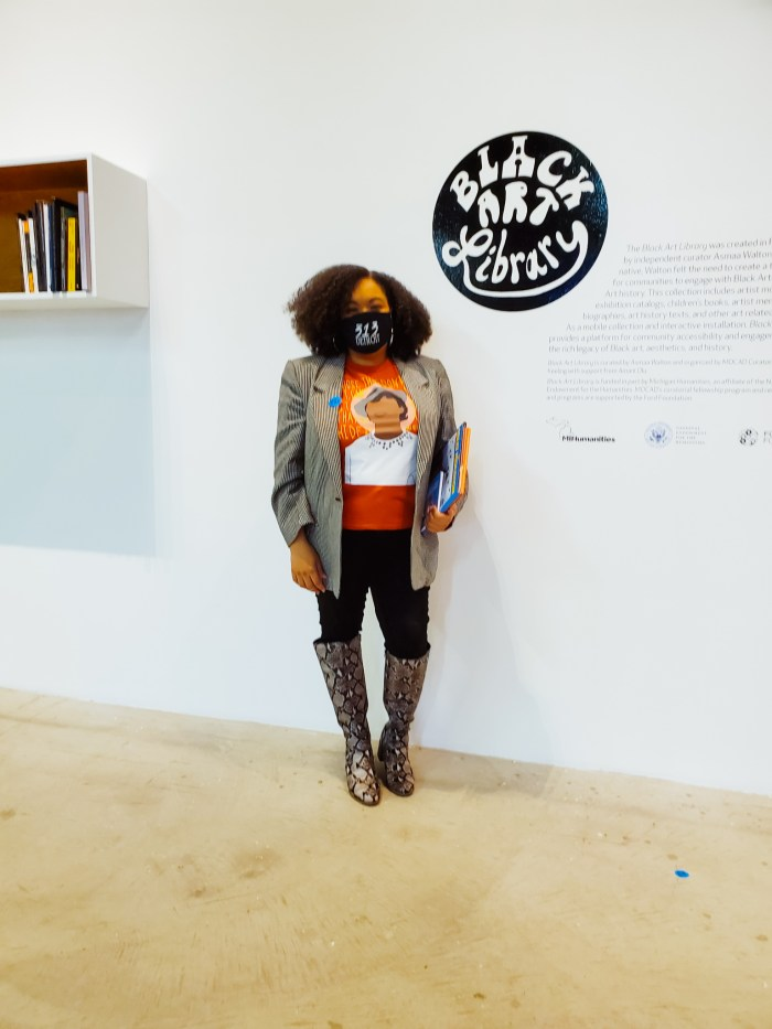 Black Art Library Detroit art exhibit now open at MOCAD.