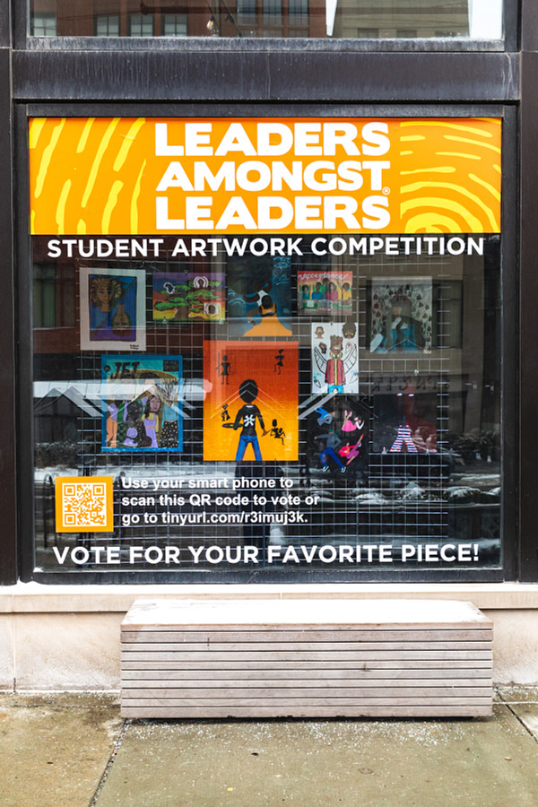 Leaders Amongst Leaders is hosting an art competition featuring ten students from the Detroit School of Arts.