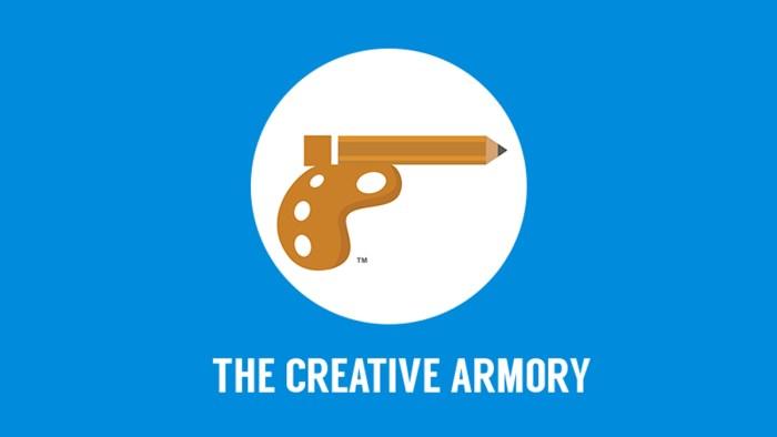 The Creative Armory logo design.