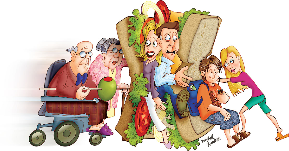 The Sandwich Generation Good Life Family Magazine