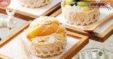 Peach Earl Grey Biscuit Choux
