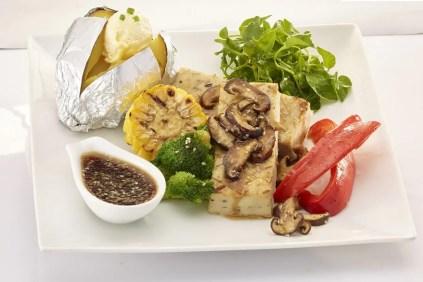 Grilled Tofu Steak