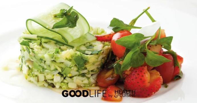 ทาร์ทาร์สลัดผักสีเขียว