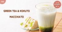 Green Tea & Kokuto Macchiato