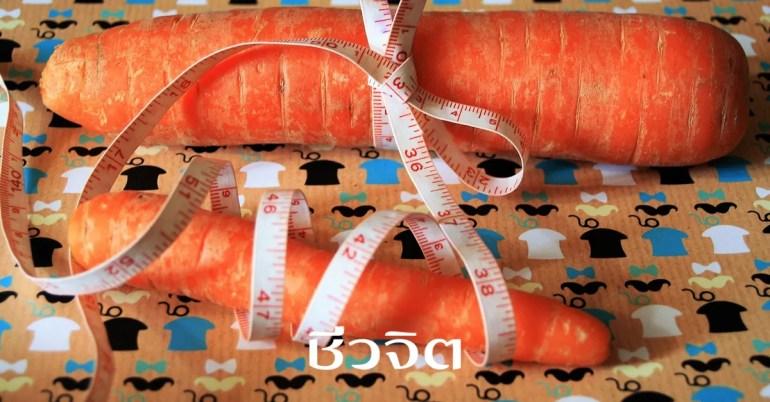 แครอท, สมุนไพรลดอ้วน, ลดความอ้วน, ลดน้ำหนัก, อ้วน