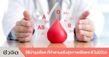 วิธีบำรุงเลือด โลหิต เลือด