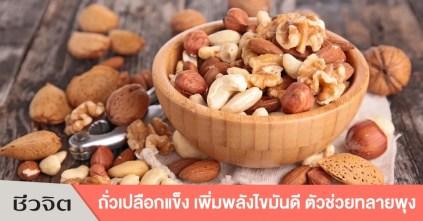 ถั่วเปลือกแข็ง, ลดความอ้วน, ถั่ว, ประโยชน์ของถั่ว, อาหารไขมันดี, Nut