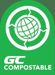 สัญลักษณ์ฉลากผลิตภัณฑ์ GC Compostable
