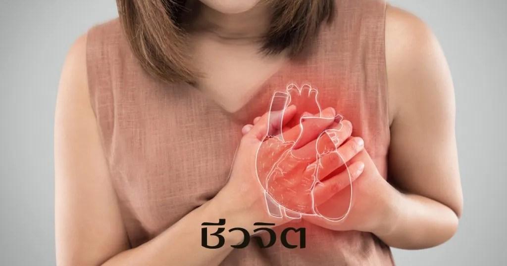 หัวใจวาย หัวใจ โรคหัวใจ หัวใจล้มเหลว