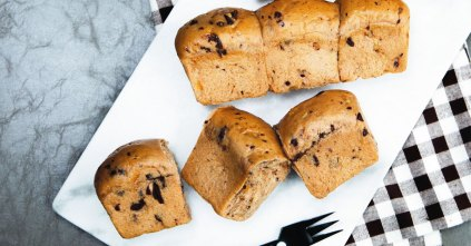 Choc Orange Milk Bread