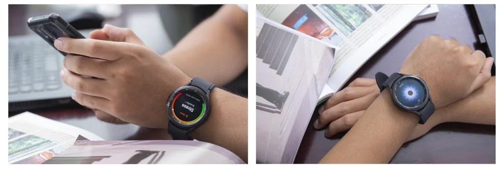 วัดความเครียดและการหายใจ-Galaxy Watch4 Series