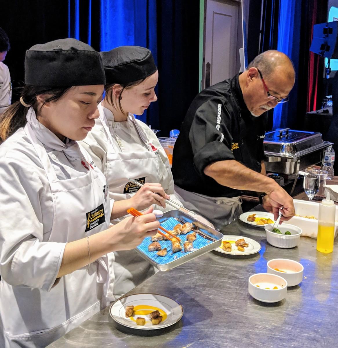 Chef Takashi Ito Receives People's Choice Award at the