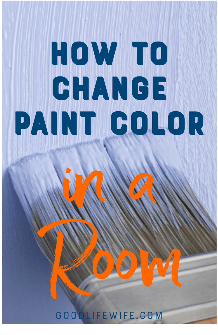 Wondering how to change paint color in a room?