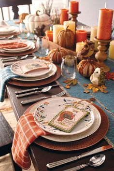 Set a beautiful Thanksgiving table this year. & Set a Beautiful Thanksgiving Table This Year | Good Life Wife