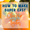If you need to feed a crowd, this super easy chicken fajita recipe is amazing! Easy clean-up because it all cooks on one sheet pan.