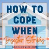 How to cope when disaster strikes. Part II in a series about my experience of living through a natural disaster and how to cope with the aftermath.